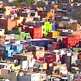 small photo of the city of Guanajuato, Mexico